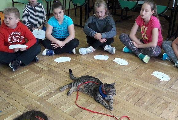 Lekcje edukacyjne w Zespole Szkół w Racławówce