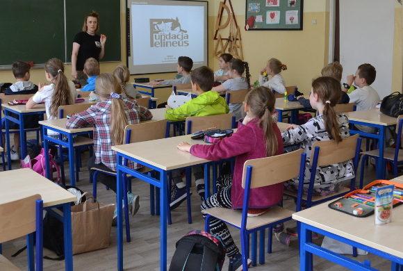 Lekcje edukacyjne w SP nr 3 w Rzeszowie