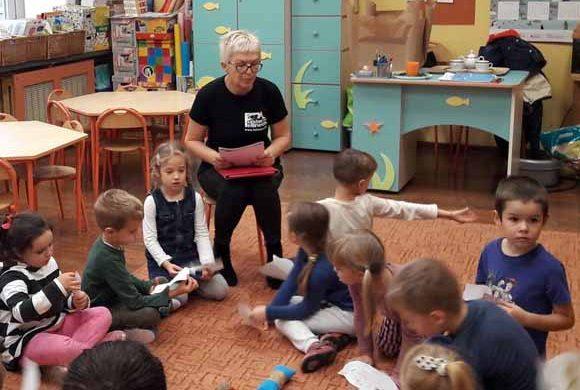 Lekcje edukacyjne w Przedszkolu nr 35 w Rzeszowie
