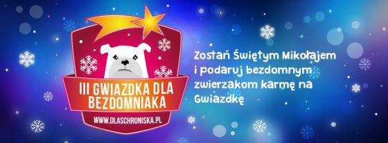 Zostań Świętym Mikołajem i podaruj karmę bezdomnym zwierzętom!