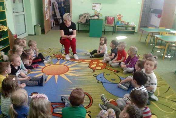 Rozumiem Mruczka w Gminnym Przedszkolu w Krasnem