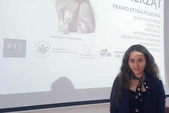 """Konferencja Naukowa """"Dobrostan zwierząt. Prawo-etyka i filozofia"""""""