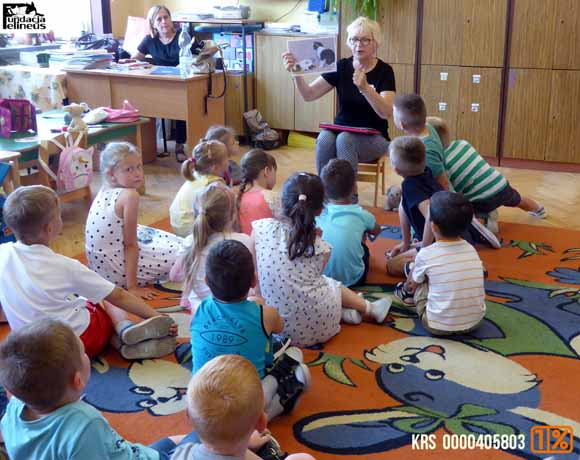 Zajęcia dla przedszkolaków w Szkole Podstawowej w Piskorowicach