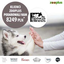Dziękujemy zooplus!
