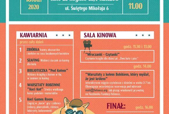 """UWAGA – Rezerwacja miejsc na seans """"Jak zostać kotem"""""""
