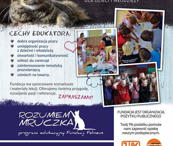 Szukamy wolontariuszy-edukatorów