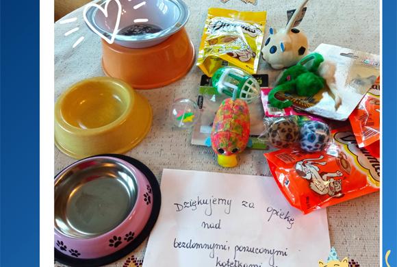 Dziękujemy SP w Piskorowicach!